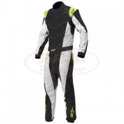 Alpinestars Tuta K-MX 5 black/yellow/fluo bimbi