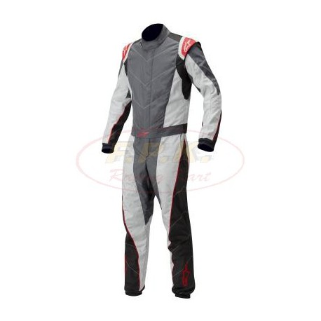 Alpinestars Tuta K-MX 5 antracite /silver red bimbi