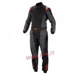 Alpinestars Tuta K-MX 5 black/orange/fluo