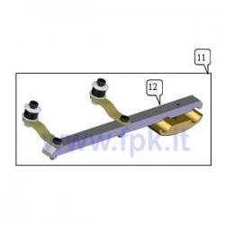 Supporto marmitta Rotax Max completo (figura 11)