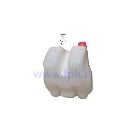 Serbatoio 9, 6 litri