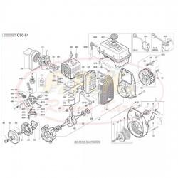 Guarnizione cilindro vari spessori (figura 57)