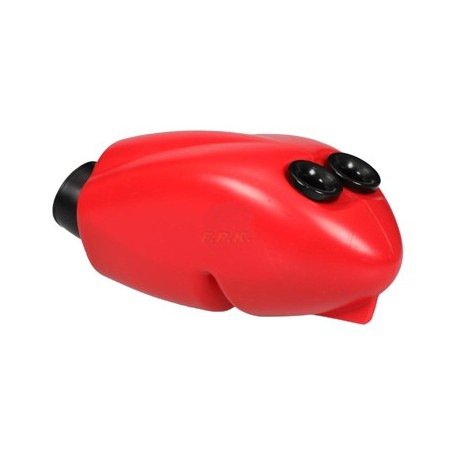 Filtro Aria/Silenziatore d'aspirazione ASR rosso fori 23 e da 30 con spugna
