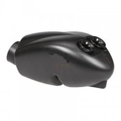 Filtro aria/Silenziatore d'aspirazione ASR nero fori 23 e da 30 con spugna