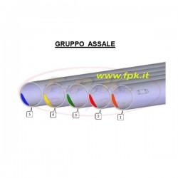 Assale 50mm per KF/Tag/100cc/Kz senza rinforzo alla corona