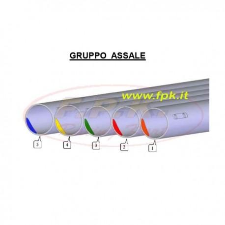 Assale 50mm Calibrato per KF/Tag/100cc/Kz 50mm senza rinforzo alla corona