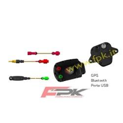 Pacchetto Alfano Pro tre Evo con sonda tempi, rpm, temperatura acqua, gps2