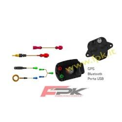 Pacchetto Alfano Pro tre Evo con sonda tempi,rpm,temperatra acqua,velocità,GPS2,