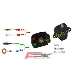Pacchetto Alfano Pro tre Evo con sonda tempi, rpm, temperatura acqua, temperatura scarico, velocità, GPS2