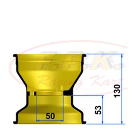 Cerchio Anteriore Magnesio 130mm profondità 53mm con Viti antistallonamento