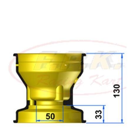 Cerchio Anteriore Magnesio 130mm profondità 33mm con Viti antistallonamento