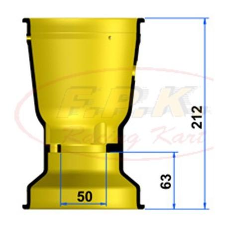 Cerchio Posteriore Magnesio 212mm