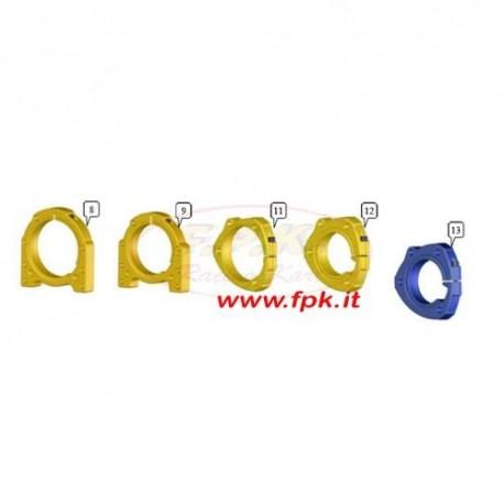 Supporto Cuscinetto 30mm esterno 80mm fissaggio 3 perni Alluminio (figura 12)