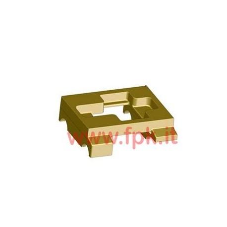Piastra Motore Magnesio Piana da 30 &32 mm