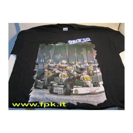 T-shirt Sparco varie raffigura zioni