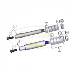 Asse fusello diametro per KF e KZ 25mm (figura 4)