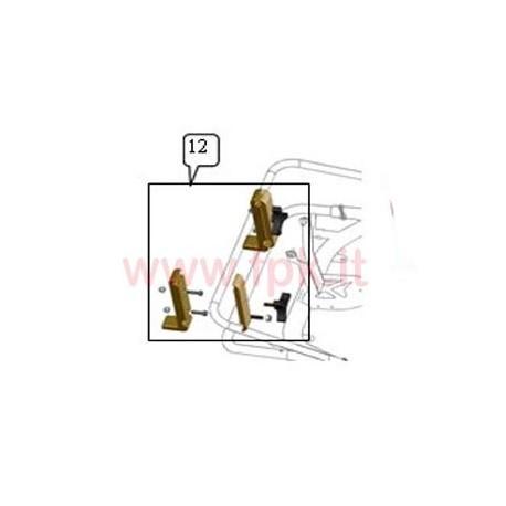 Kit supporti Spoiler anteriore Jet (figura 12)