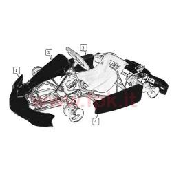 Spoiler Anteriore Mini MK14 nero (figura 1)
