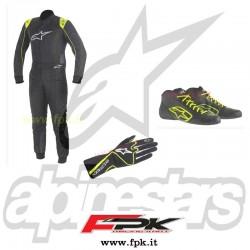 Kit abbigliamento con ricamo in omaggio Alpinestars
