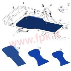 """Kit fissaggio Pianale """"6pz"""" (figura 4)"""