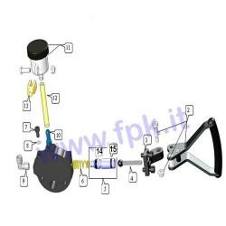 Kit pistone diametro 14 (figura 5)
