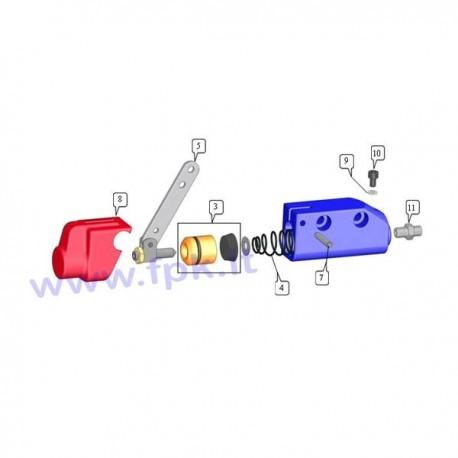 Guarnizione perno spurgo freno (figura 9)