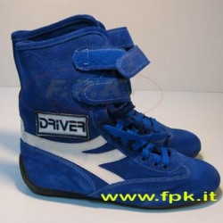Stivaletti Driver blu
