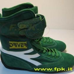 Stivaletti Driver verde