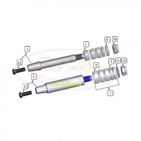 Rondella alluminio 14mm asse 25mm (figura 11)