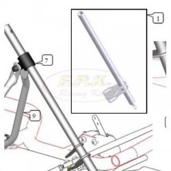Piantone sterzo mini L 415mm