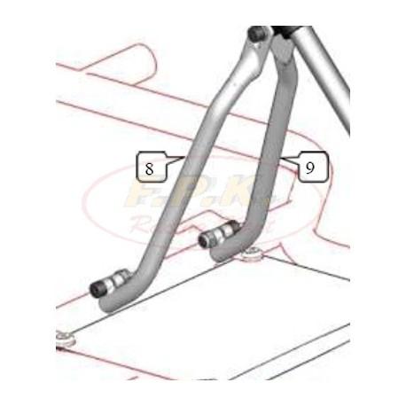 Braccio supporto piantone sterzo lato motore figura 8 KZ