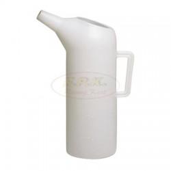 Caraffa 5 litri con beccuccio SPECIFICA per CARBURANTI