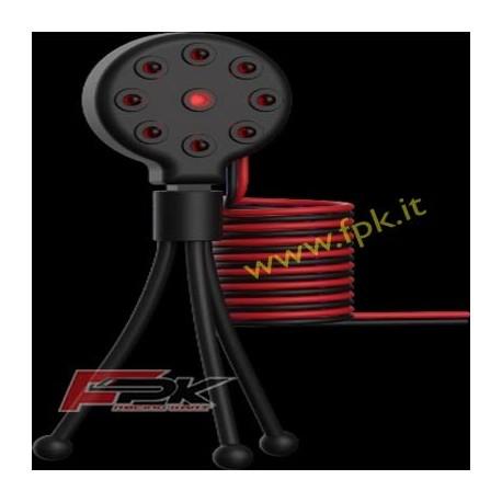 Trasmettitore infrarosso 8 leds 12/24 Volts-150cm