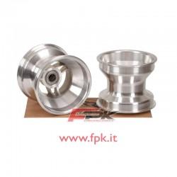 Coppia cerchio alluminio anteriore mini con cuscinetto