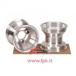 Coppia cerchio alluminio anteriore mini senza cuscinetto varie misure