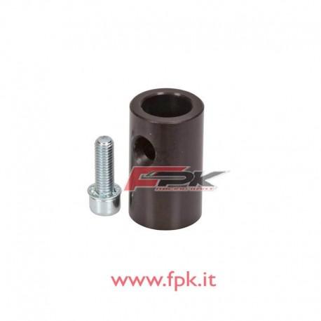 Supporto cilindrico per fissaggio cravatta