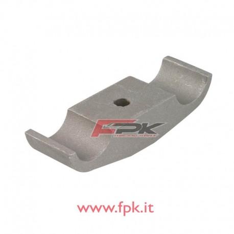 Cavallotto alluminio piastra motore mono foro 30/32-92