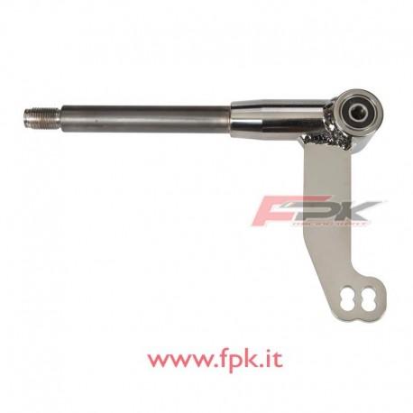 Fusello sinistra 100/KF con cuscinetti 17mm