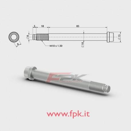 VITE PER FUSELLO diametro 10mm M10 L.85+18mm