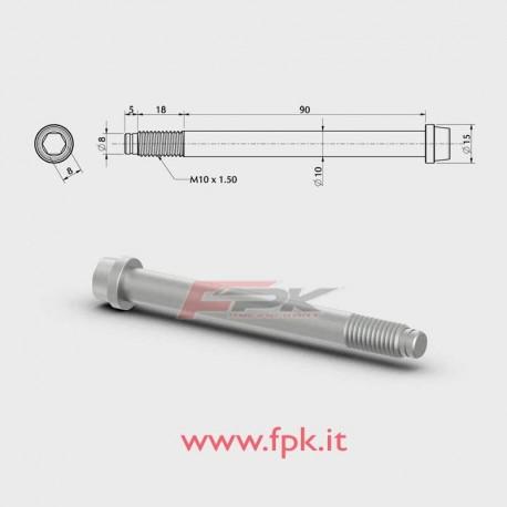 VITE PER FUSELLO diametro 10mm M10 L.90+18mm