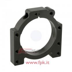 Guscio regolabile in alluminio 4 fori assale 50mm esterno 90mm