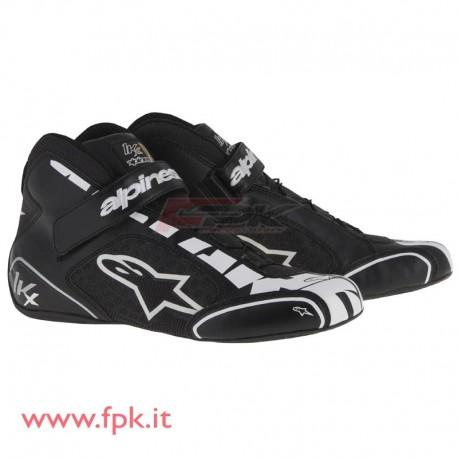 Alpinestars Scarpe Tech-1 KX silver/bianca
