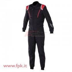 Tuta Alpinestars KMX-1 nera/rossa