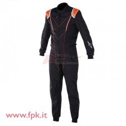 Tuta Alpinestars KMX-1 nera/arancio