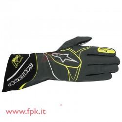 Alpinestars guanto Tech-1 KX antracite/nero/giallo-fluo
