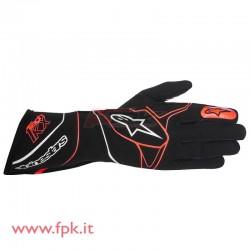 Alpinestars guanto Tech-1 KX nero/rosso