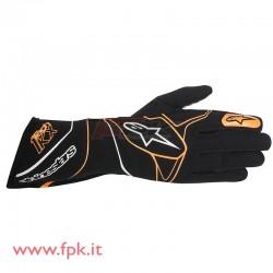 Alpinestars guanto Tech-1 KX nero/arancione-fluo