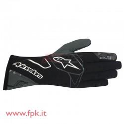 Alpinestars guanto Tech-1 K nero/antracite/bianco