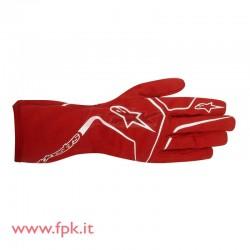Alpinestars guanto Tech-1 K Race rosso