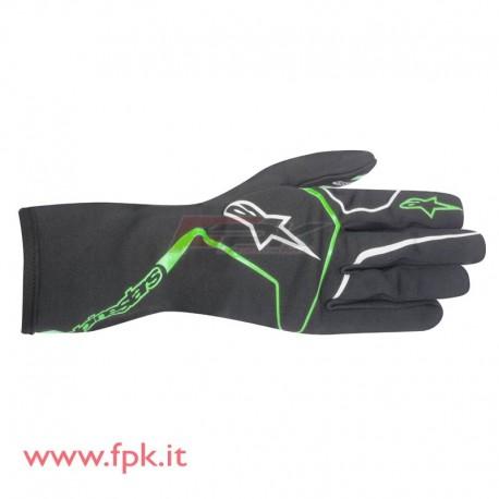 Alpinestars guanto Tech-1 K Race antracite/verde